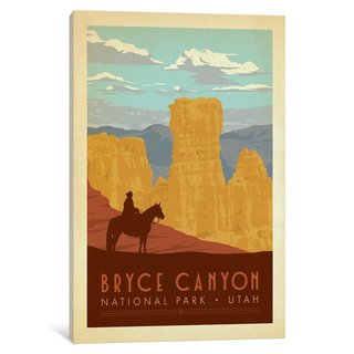 iCanvas Art & Soul Of America National Parks Collection: Bryce Canyon National Park by Anderson Design Group Canvas Print