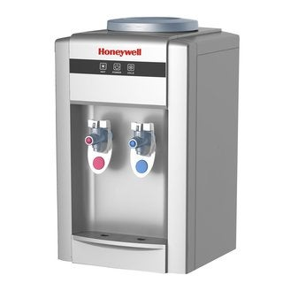 Honeywell HWB2052S2 Tabletop Top-Loading Hot/Cold Water Dispenser, Silver