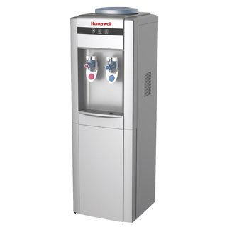 Freestanding Hot & Cold Drinking Water Dispenser HWBAP1052S2 By Honeywell - Stainless Steel Tank, Silver