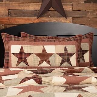 Abilene Star Lux Cotton Sham
