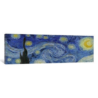iCanvas The Starry Night by Vincent van Gogh Canvas Print