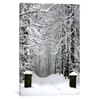 iCanvas 'Winter Time' by Unknown Artist Canvas Print