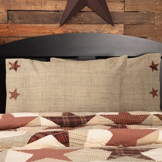 Abilene Star Cotton Pillow Case Set