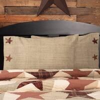 Abilene Star Cotton Pillow Case Set