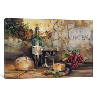 iCanvas 'Le Chateau' by Marilyn Hageman Canvas Print