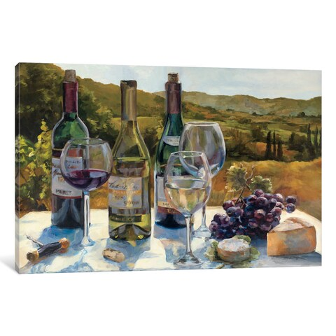 iCanvas 'A Wine Tasting' by Marilyn Hageman Canvas Print