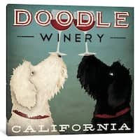 iCanvas 'Doodle Winery' by Ryan Fowler Canvas Print