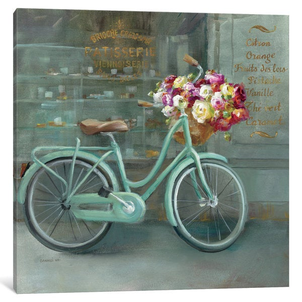 iCanvas Joy Of Paris I by Danhui Nai Canvas Print