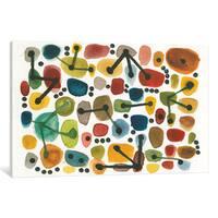 iCanvas 'Mid Century I' by Cheryl Warrick Canvas Print