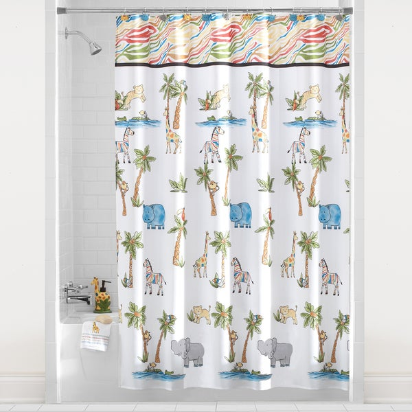 Saturday Knight Safari Shower Curtain