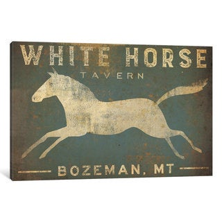 iCanvas 'White Horse Tavern' by Ryan Fowler Canvas Print