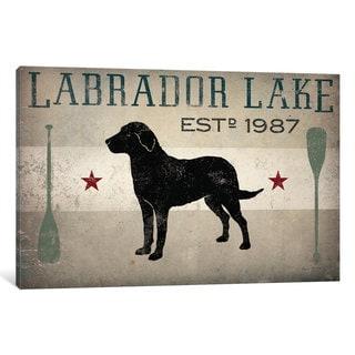 iCanvas 'Labrador Lake II' by Ryan Fowler Canvas Print