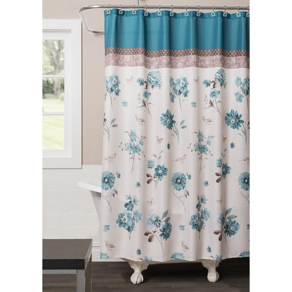 Saturday Knight Blue Note Shower Curtain