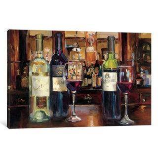 iCanvas 'A Reflection Of Wine' by Marilyn Hageman Canvas Print