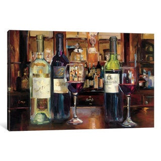 iCanvas 'A Reflection Of Wine' by Marilyn Hageman Canvas Print