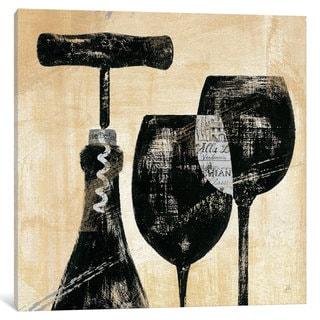 iCanvas 'Wine Selection II ' by Daphne Brissonnet Canvas Print