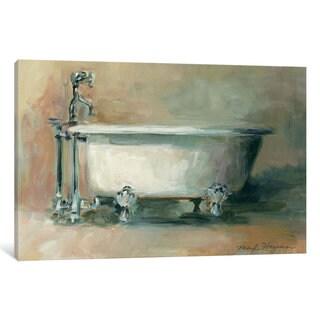 iCanvas 'Vintage Tub II' by Marilyn Hageman Canvas Print