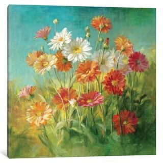 iCanvas 'Painted Daisies' by Danhui Nai Canvas Print