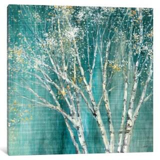 iCanvas 'Blue Birch' by Julia Purinton Canvas Print