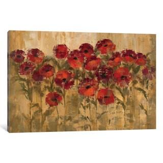 iCanvas 'Sunshine Florals ' by Silvia Vassileva Canvas Print