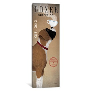 iCanvas 'Boxer Coffee Co.' by Ryan Fowler Canvas Print