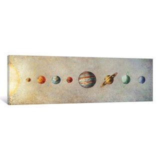 iCanvas 'The Solar System' by Terry Fan Canvas Print