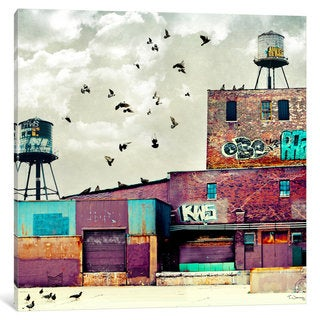 iCanvas 'Factory I' by Tim Jarosz Canvas Print