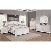 Beachcrest Eggshell White 6-piece Bedroom Set by Greyson Living