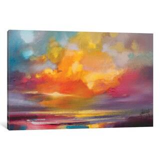 iCanvas Sunset by Scott Naismith Canvas Print