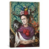 iCanvas 'Hommage a Frida (A Tribute To Frida)' by Sophie Wilkins Canvas Print