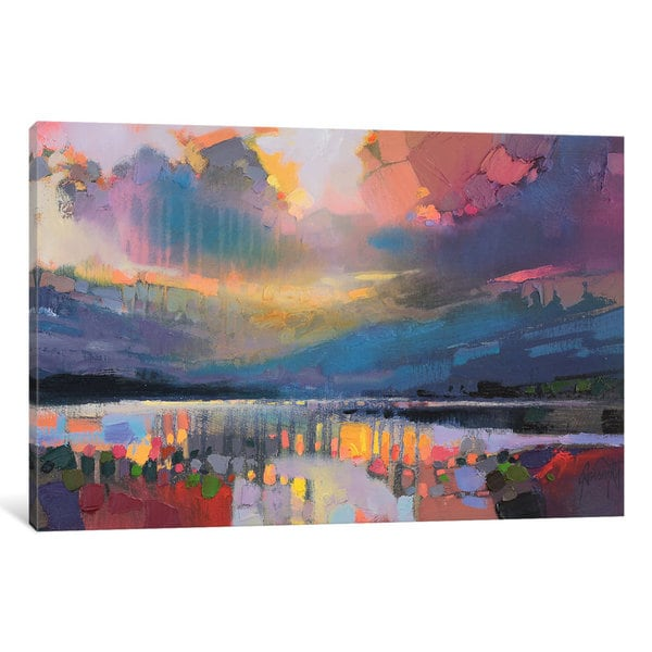 iCanvas 'Lomond Light' by Scott Naismith Canvas Print