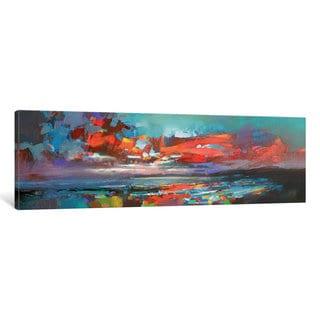 iCanvas 'Cowal Red' by Scott Naismith Canvas Print