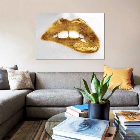 iCanvas 'Luscious Gold' by Sarah McGuire Canvas Print