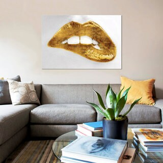 iCanvas 'Luscious Gold' by Sarah McGuire Canvas Print