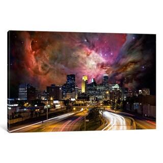 iCanvas Minneapolis, Minnesota Orion Nebula Skyline by iCanvas Canvas Print