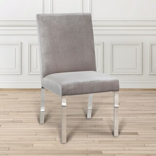 Uptown Club Orion Modern Premium Leatherette Dining Chairs