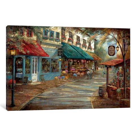 iCanvas Romantic Interlude by Ruane Manning Canvas Print