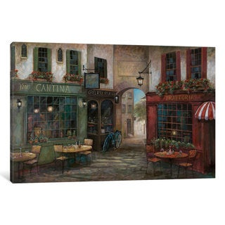 iCanvas 'Courtyard Ambiance' by Ruane Manning Canvas Print