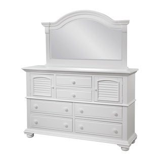 Beachcrest Eggshell White Wood Dresser by Greyson Living (2 options available)