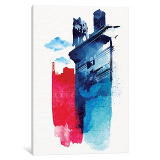 iCanvas 'This Is My Town' by Robert Farkas Canvas Print