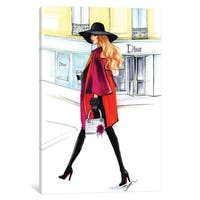 iCanvas 'Dior Lady' by Rongrong DeVoe Canvas Print