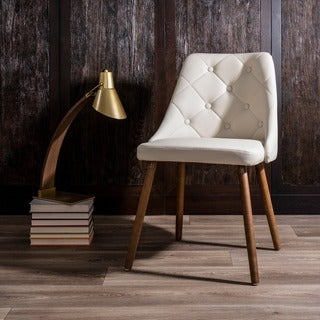 LumiSource Giovanni Tufted Mid-Century Modern Dining/Accent Chair