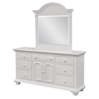 Beachcrest Triple Dresser and Optional Dressing Mirror by Greyson Living