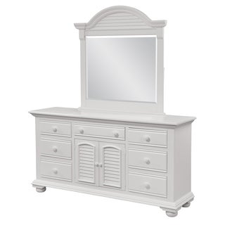 Beachcrest Triple Dresser and Optional Dressing Mirror by Greyson Living