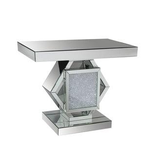 Acme Furniture Nowles Mirrored Console Table