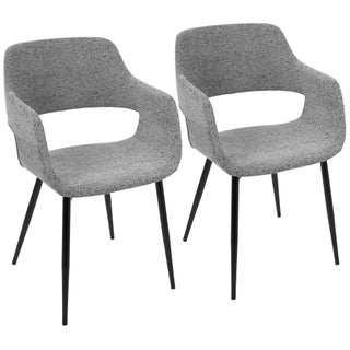 Margarite Mid-Century Modern Dining/Accent Chair (Set of 2) (3 options available)