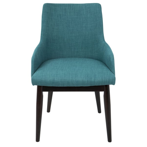 Santiago Mid-Century Modern Upholstered Dining/ Accent Chair (Set of 2). Opens flyout.