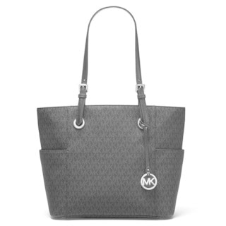 Michael Kors Jet Set Travel Black Logo Tote Bag