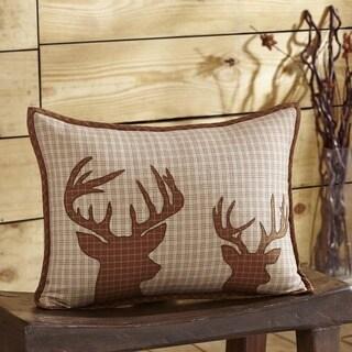 Tallmadge Deer FilledThrow Pillow 14x18