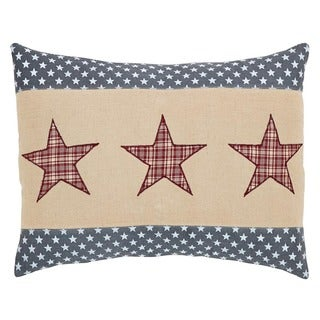 Independence Star FilledThrow Pillow 14x18